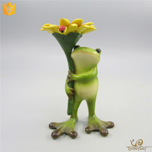 Hot Sale Resin Frog Animal Wax Figures for Sale