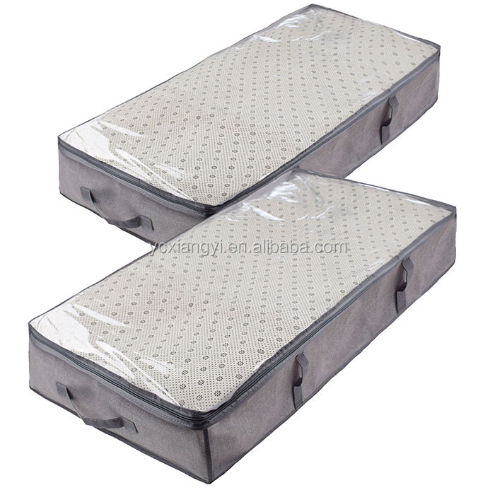 Vacuum clothes industrial storage bag for queen mattress