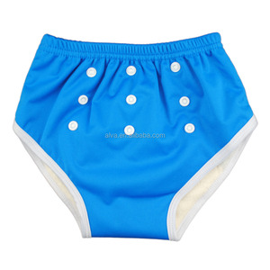 ALVABABY Baby Training Pants Diaper Reusable and Washable Bamboo Inner Training Pants