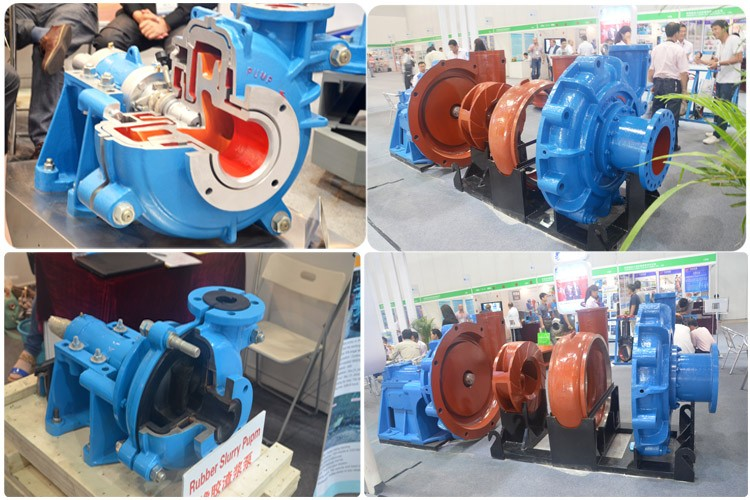 High chrome sand dredger mining slurry pump