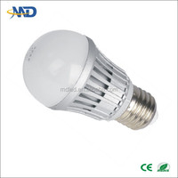 7W LED ball bulb lamp E26 E27 E14 B22 bulb 90-277V or DC12V solar replacement incandescent lamp weixingtech 7w plastic led bulb