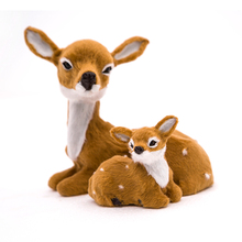 HX7 Xmas Mother and baby deer Cute decorations factory cheap 1 pair