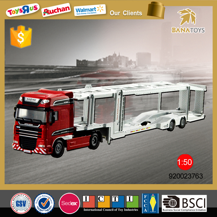 1 50 Miniature truck model transportation toy truck for children