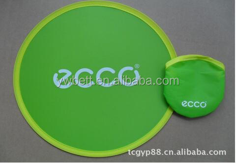air freshener wholesale promotional custom soft nylon fabric folding dog frisbee