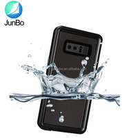 2017 New products mobile phone accessories crystal TPU waterproof phone case for Samsung Note 8 for samsung note 8 case