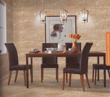 antique rock look dining room wall ceramic tile