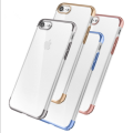 2016 new arrival Hollow electroplating mobile phone case for iphone 7/7plus