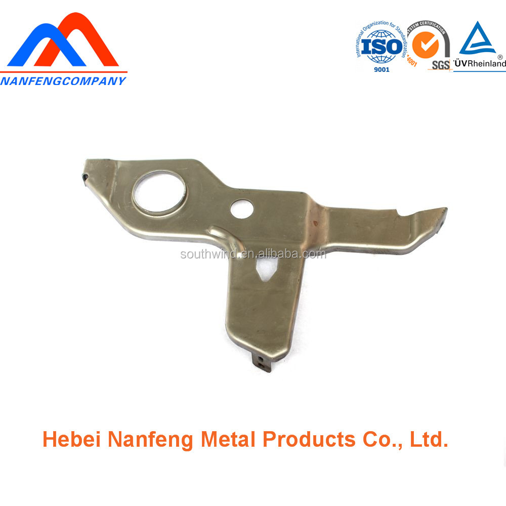 CNC precision fabrication auto spare parts iron glass lift metal parts