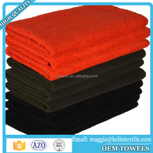 China Manufacturer export Microfiber Black Color Waxing Cleaning Car Towels Car Wash Cloth