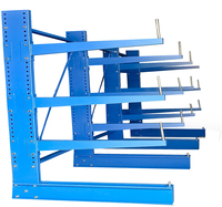 Heavy duty power hose storage sheif rack