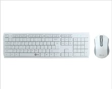ultra-thin 2.4GHz keyboard and mouse wireless combo for Smart TV Desktop Notebook
