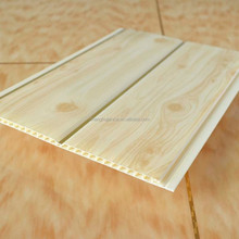 build materials decoration golden shine high quality pvc ceiling panel used for building material