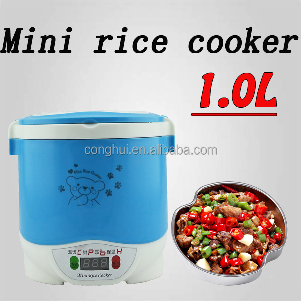 mini blue rice cooker C7