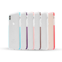 China Manufacturer High Transparent Hybrid Shockproof Phone Cases Clear Strong TPU Cover for iPhone X