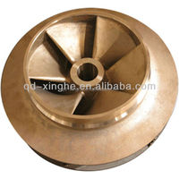 custom cast iron /ductile iron resin sand casting