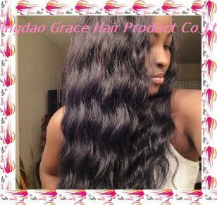 Body wave virgin india hair full lace wig