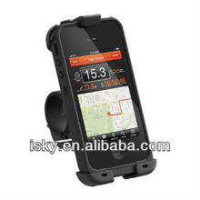New arrival weatherproof shockproof case sport case bicycle case waterproof bike & bar mount case for iPhone 4/4s
