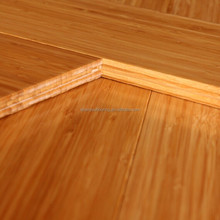 Piso de bambu, CE certified carbonized Vertical bamboo quick click lock flooring