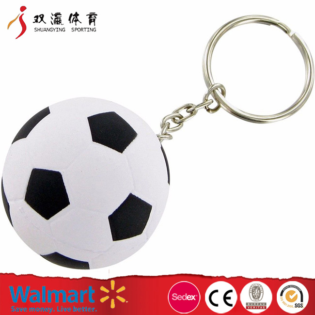pu football stress ball with key ring,DIY homemade stress ball buy chinese products online