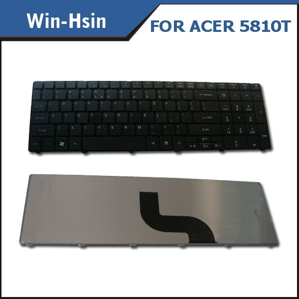 original US layout laptop keyboard for Acer 5738 5742 5536 5810T