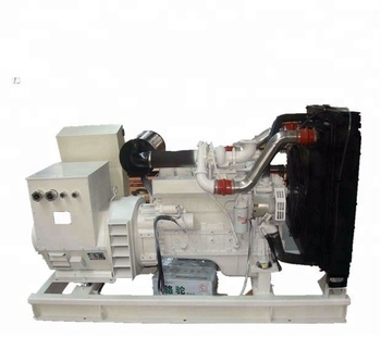 100kva/80kw water cooled marine engine type genset diesel generator set price for sale made in China