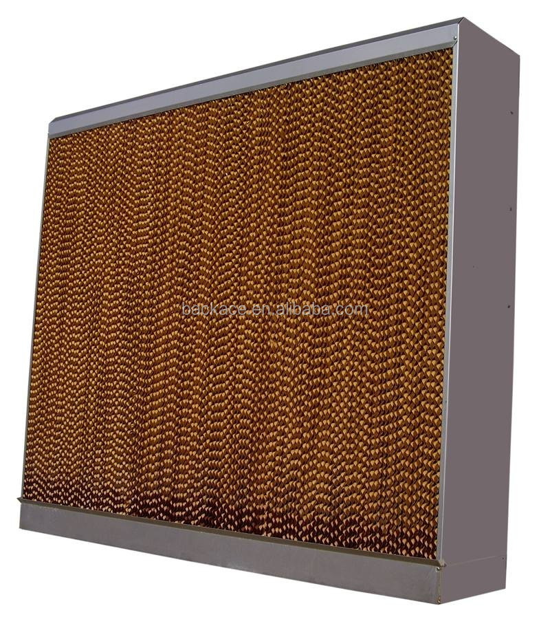 hot selling corrugated cellulose evaporative cooling pad