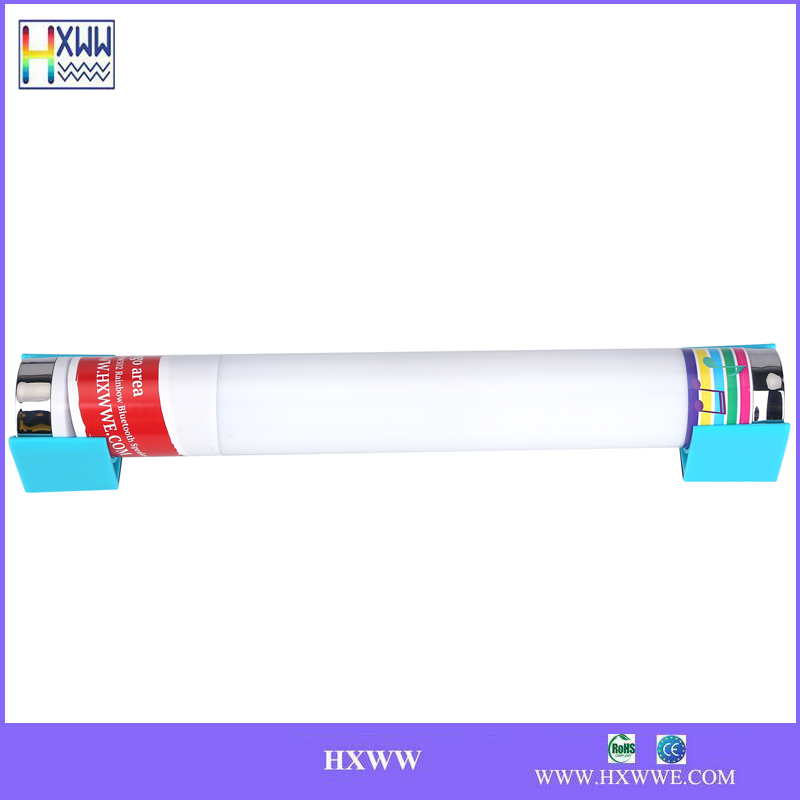 2013 SHENZHEN factory cheap mini bss bluetooth tube speaker with LED light