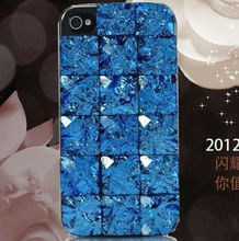 For iPhone bling bling diamond case cover for iphone 4 for iphone 5 crystal case