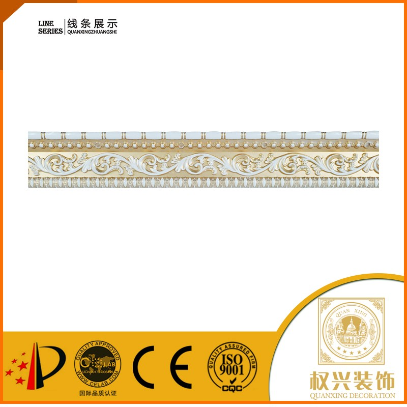 Factory price 2016 custom polystyrene cornice <strong>moulding</strong> for bed room from china