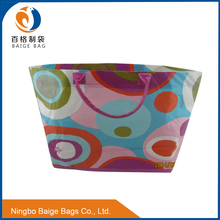 BSCI audited fty recycling wine tote bag wholesale promotional foldable tesco pp woven shopping bag maker cheap 25kg packing bag