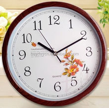 metal double sided wall clocks