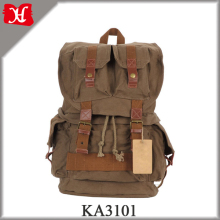 Fashion Canvas DSLR SLR Camera Backpack Durable Hiking Rucksack