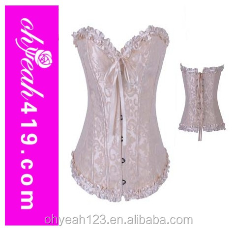 2014 Paypal accept new model sexy corset