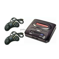 video games console player for SEGA 16 bit TV game console two joystick