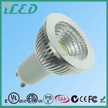 Top Quality CRI80 450LM Osram LED COB Spotlight 3000K Halogen White LED GU10 5W Dimmable