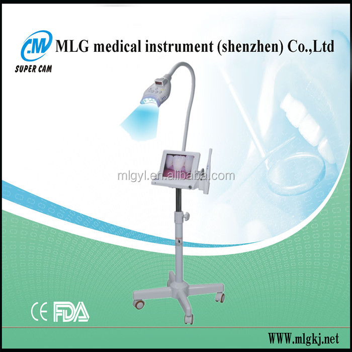 M-86A super cam factory multifunctional 8 inch LCD led teeth lamp supply/medical teeth bleaching instrument