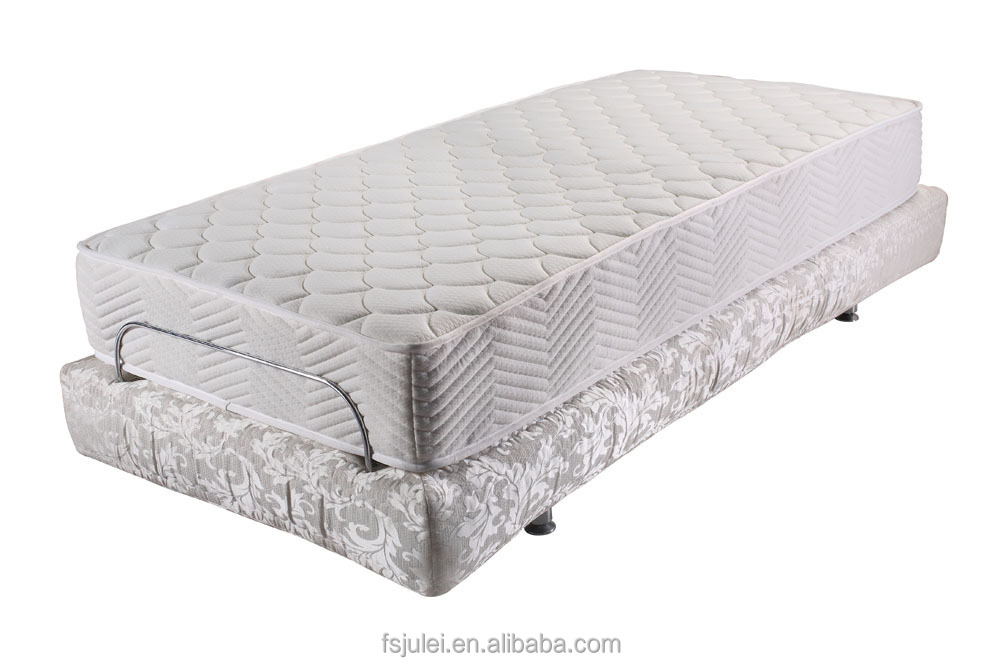 Single Size Fabric Cover Adjustable Bed Frames Wholesale