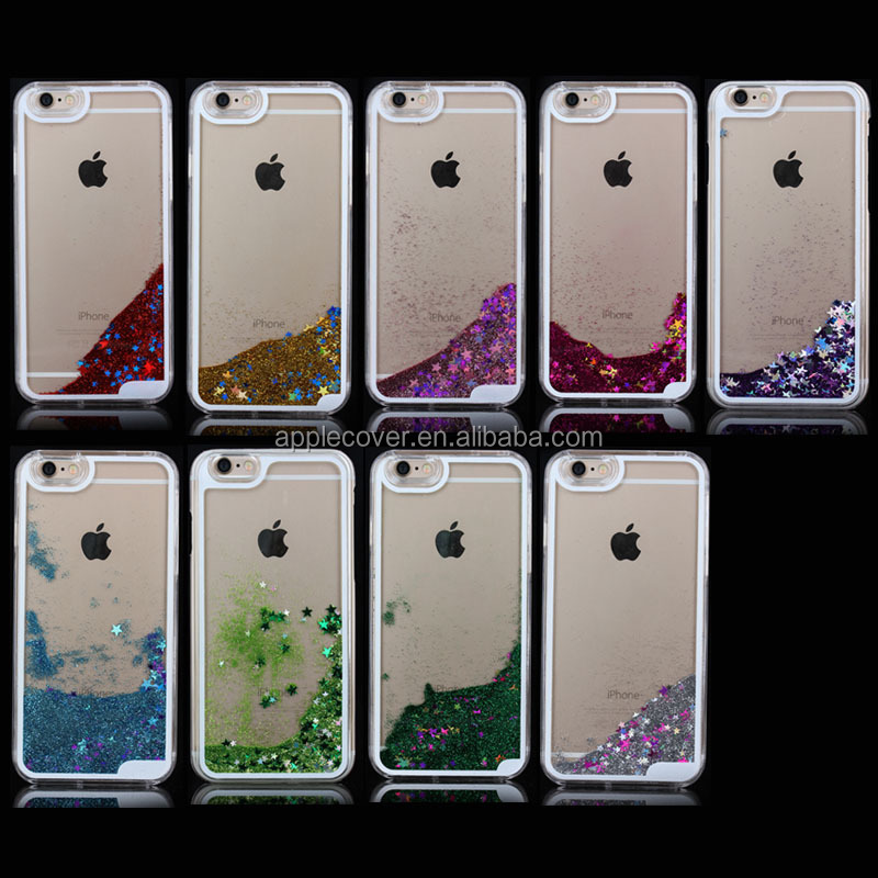 High Quality Liquid PC mobile phone Hard Case for iPhone6 4.7inch , for Apple Iphone 6 Liquid Case
