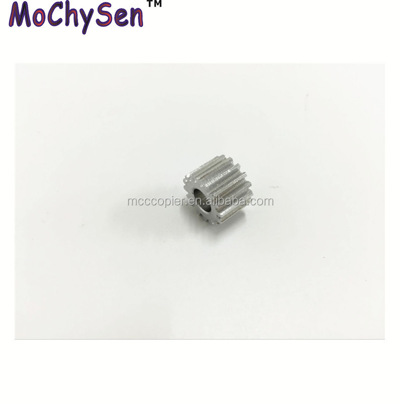Quality Guarantee Compatible 16T Paper Aluminium Tray Motor Gear For DC 4110 4112 4127 4595 4590