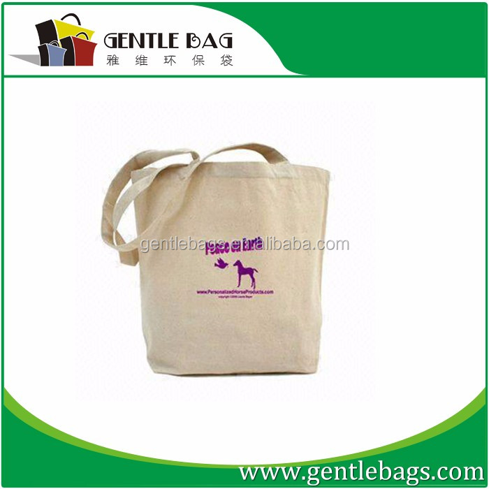 Customized cotton canvas lunch bags