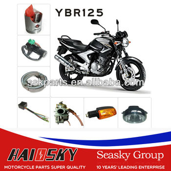 HAISSKY HAIOSKY motorcycle parts spare high quality ybr125 motorcycle parts for yamaha