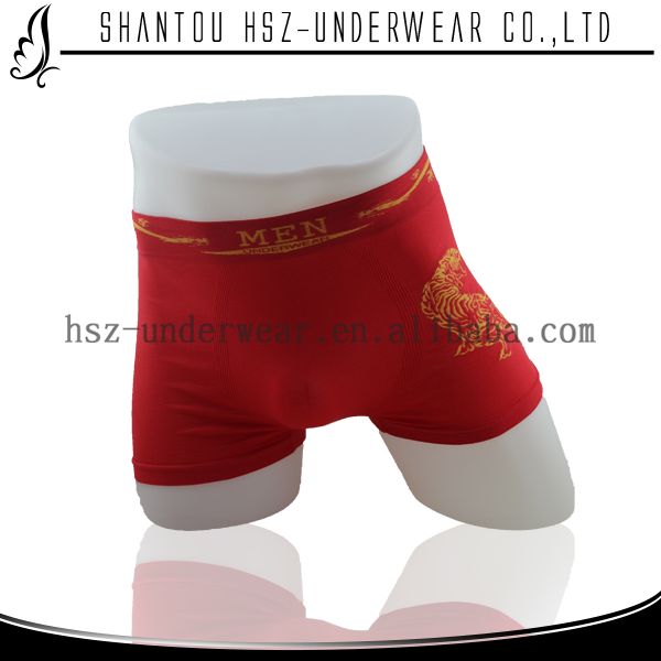 Cheap price men boxer underwear boy underwear boxer shorts seamless boxer sexy rubber latex underwear for men