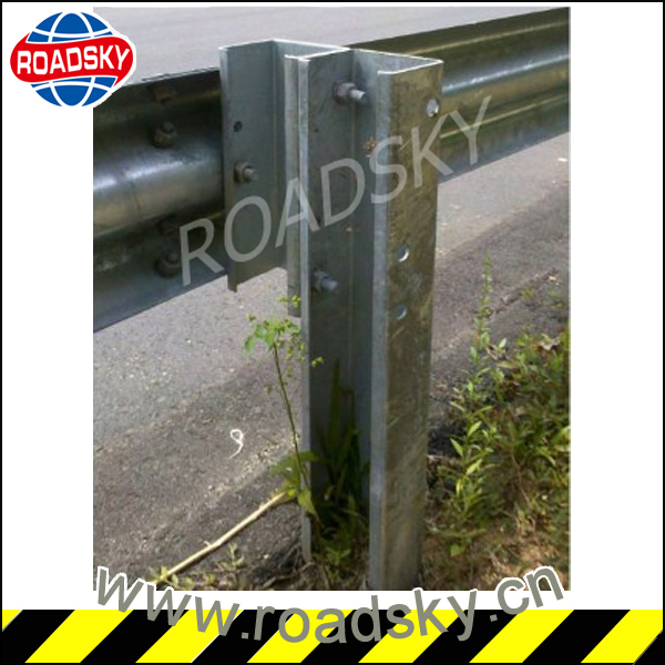 Safety Steel Highway Guardrail Post