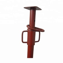 high durability adjustable scaffolding steel shoring props used for construction