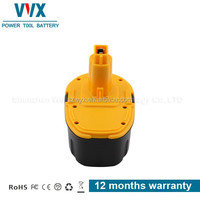 New High Capacity Economic NI-MH 18V 3Ah Power Tool Battery for Dewalt