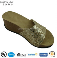 (CSL-745) High heel shoes low price women wear materials to make sandals