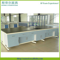 compact laminate lab bench, compact panel Physics Lab Workbench