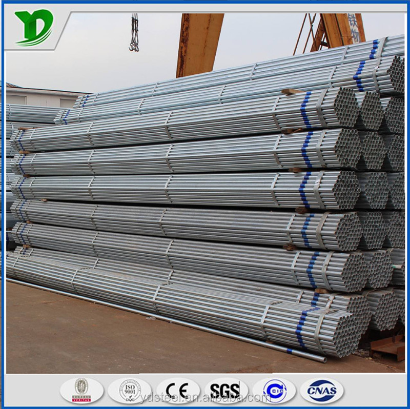 ASTM A53GR.B/BS1387 cold drawn galvanized steel pipe/ tube/gi pipe /carbon metal steel pipes