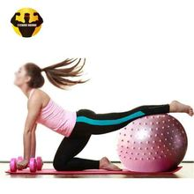 RAMBO Custom Logo Large Half Gym Massage Yoga Ball For Body Building Balance Training