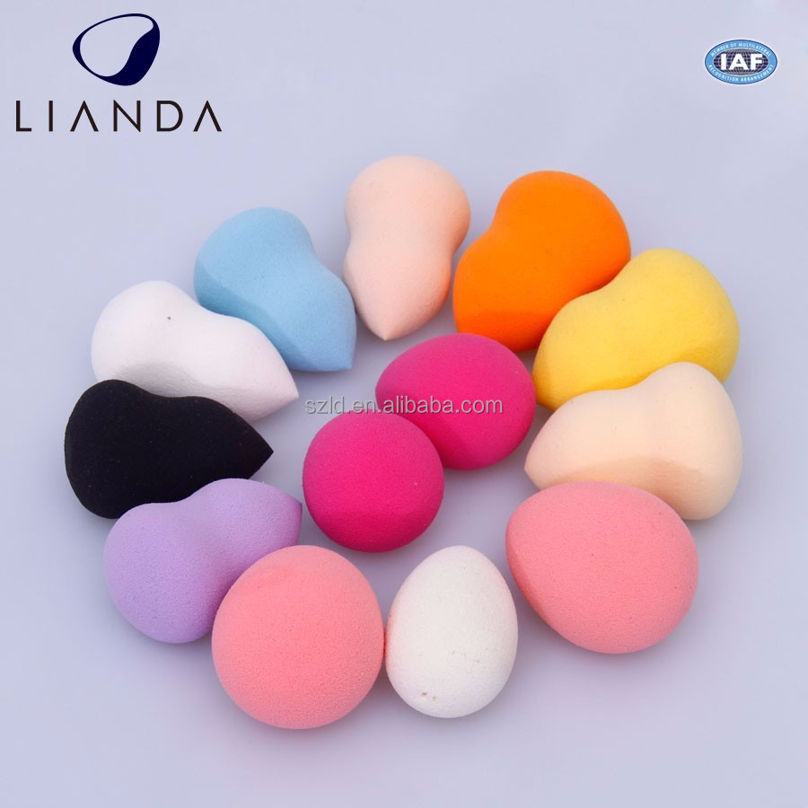 2pc High Quality Make Up Removing Puff Sponge, Cosmetic Puff,Beauty Face Remover